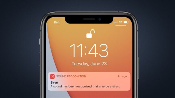 iOS Sound Recognition